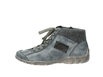 Rieker dámské pohodlné kotníkové boty - bleděmodré 4f084d5cab