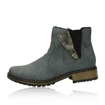 Rieker dámské pohodlné kotníkové boty - modré ad486b5792