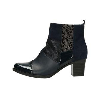 Rieker dámské pohodlné kotníkové boty - tmavomodré 5764f9d529