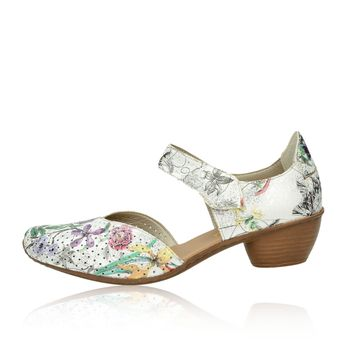 Rieker dámské stylové sandály - multicolor
