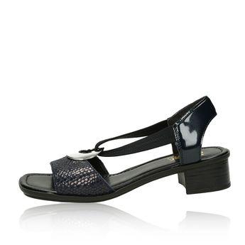 Rieker dámské stylové sandály - černé