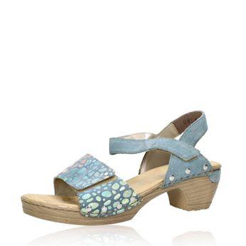 Rieker dámské stylové sandály - modré
