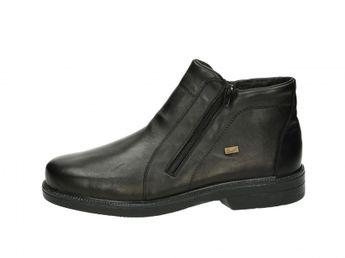 Rieker pánské kotníkové boty - černé