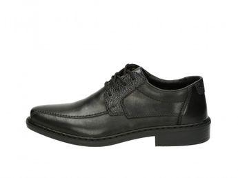 Rieker pánské společenské boty - černé