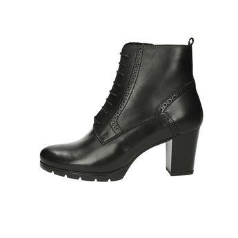 8ad27a4a414 Robel dámské kožené kotníkové boty na podpatku - černé
