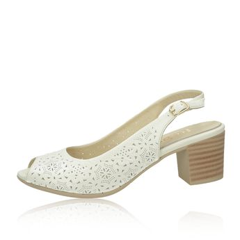 270ab4377de3 Robel dámské kožené sandály - béžové