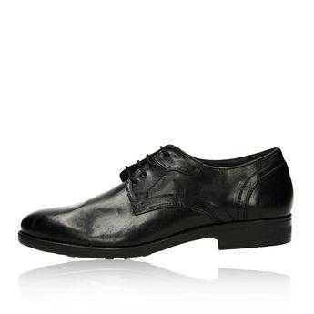 Robel pánské kožené společenské boty - černé 4bf2bbaaac