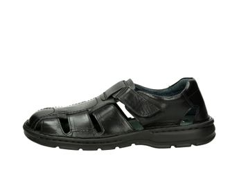 Robel pánské kožené sandály - černé