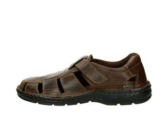 Robel pánské kožené sandály - hnědé