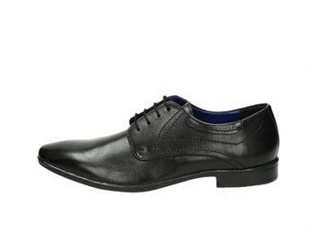 Robel pánské společenské boty - černé