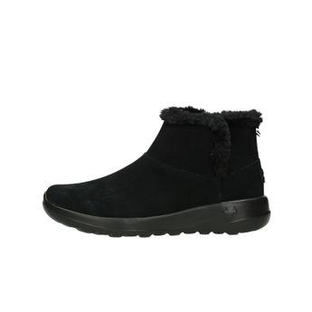 Skechers dámské semišové kotníkové boty - černé