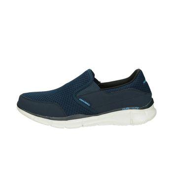 Skechers pánské tenisky bez šněrování - modré