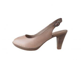 Tamaris dámské sandály - běžové