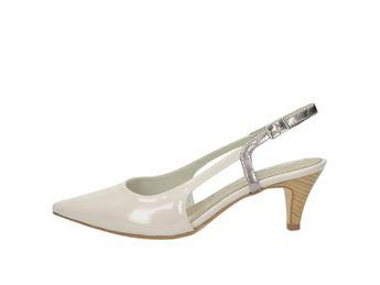 Tamaris dámské sandály - perlověbílé