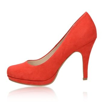 Tamaris dámské lodičky - červené