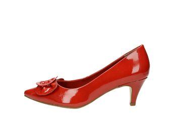 Tamaris dámské lodičky - červené c661304ea5