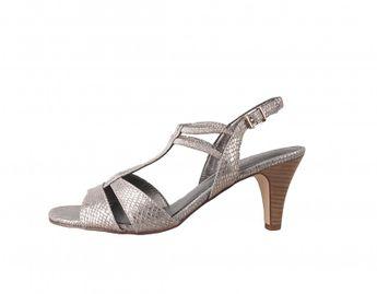 Tamaris dámské sandály - šedé