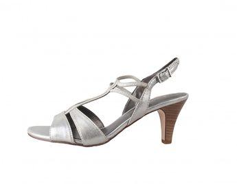 Tamaris dámské sandály - stříbrné