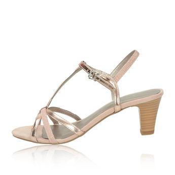 Tamaris dámské sandály - růžové 5ff29f474f