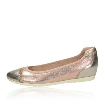Tamaris dámské stylové balerínky - růžové