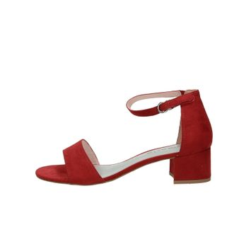 Tamaris dámské stylové sandály - bordó