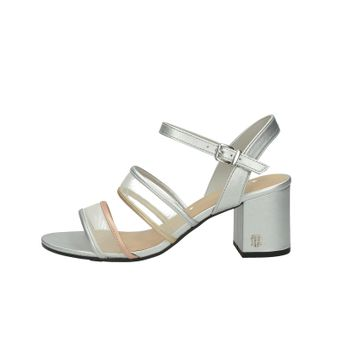 Tommy Hilfiger dámské stylové sandály s řemínkem - stŕíbrné