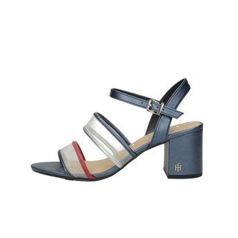 Tommy Hilfiger dámské stylové sandály s řemínkem - tmavomodré