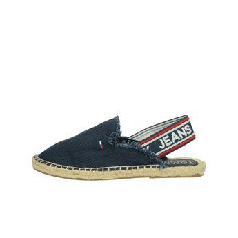 Tommy Hilfiger dámské stylové sandály - tmavomodré