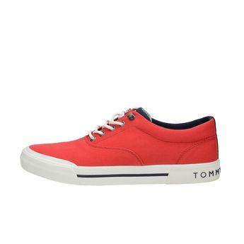 74b5f718dab Tommy Hilfiger pánské stylové tenisky - červené
