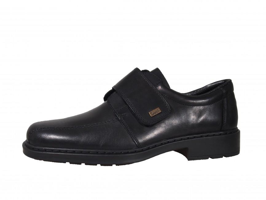 Rieker pánské boty na suchý zip - černé ... e4a3b9dabe