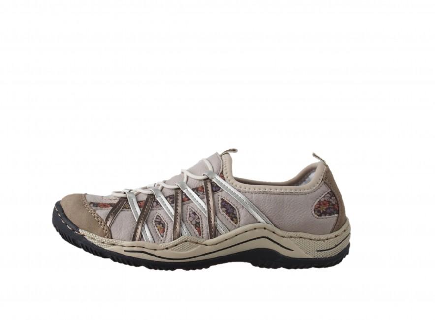 Rieker dámská trekingová obuv - béžová ... 7f3774d2238
