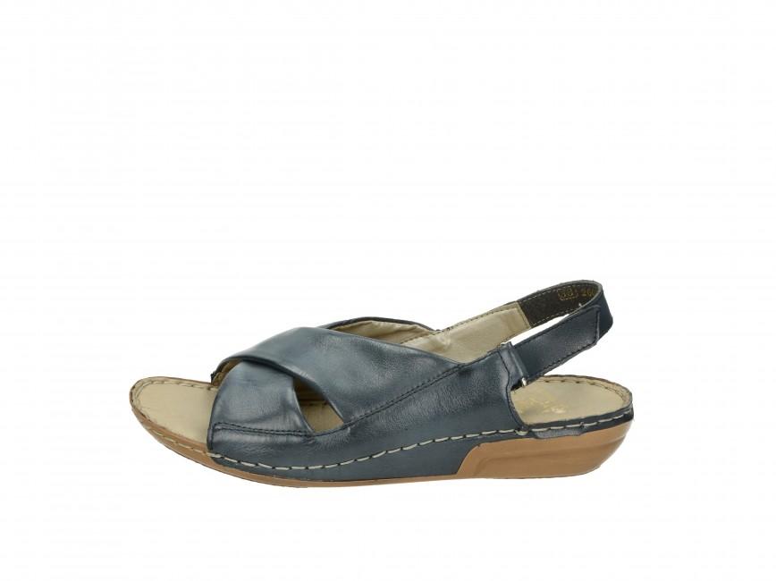 edec51300b4aa Rieker dámské sandály - modré Rieker dámské sandály - modré ...