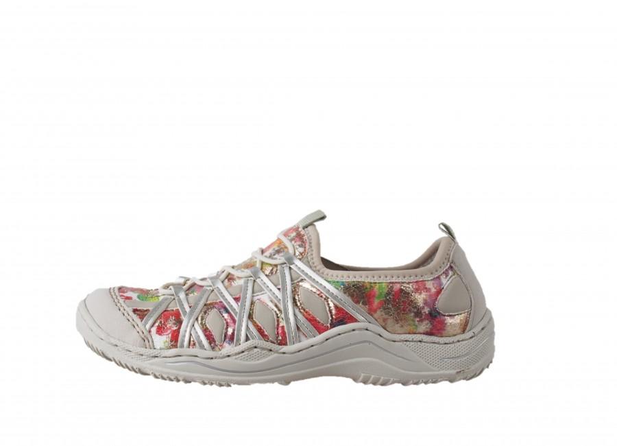 Rieker dámská trekingová obuv - vícebarevná Rieker dámská trekingová obuv -  vícebarevná ... a78380c059c