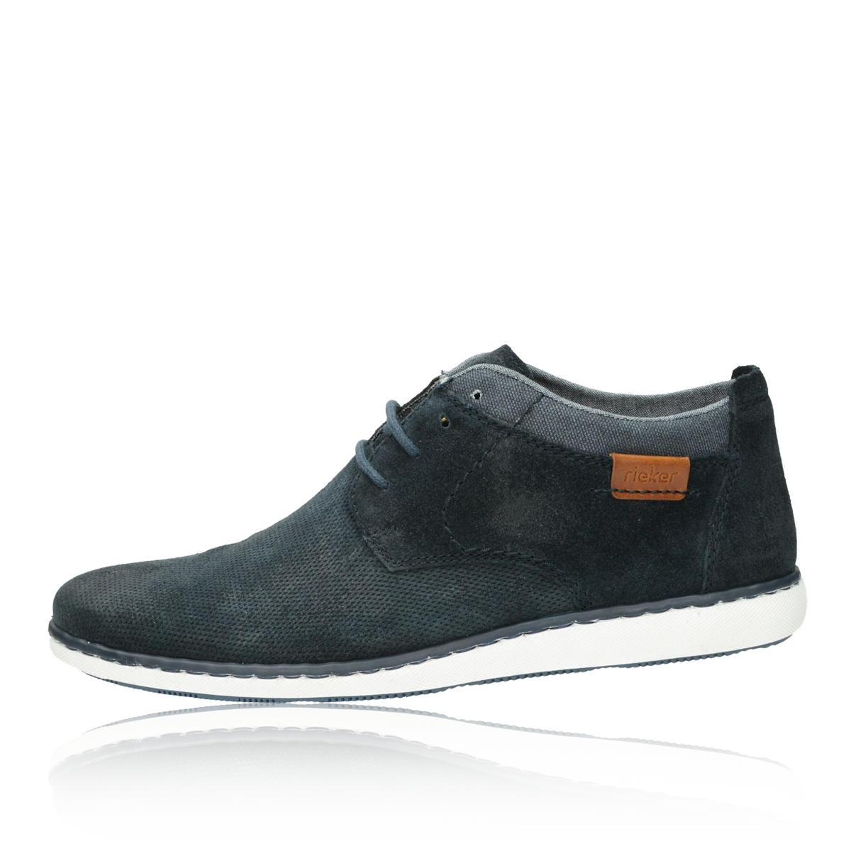 ... Rieker pánské jarní kotníkové boty - modré ... 5f2f80ff58