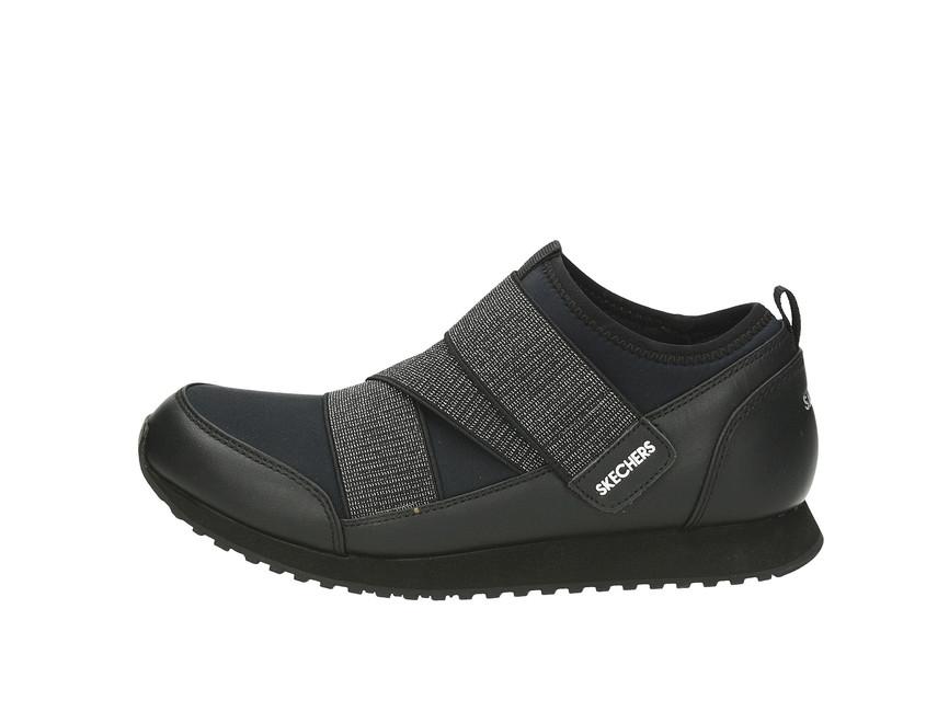 b4ae88c89fe ... Skechers dámské tenisky na suchý zip - černé ...