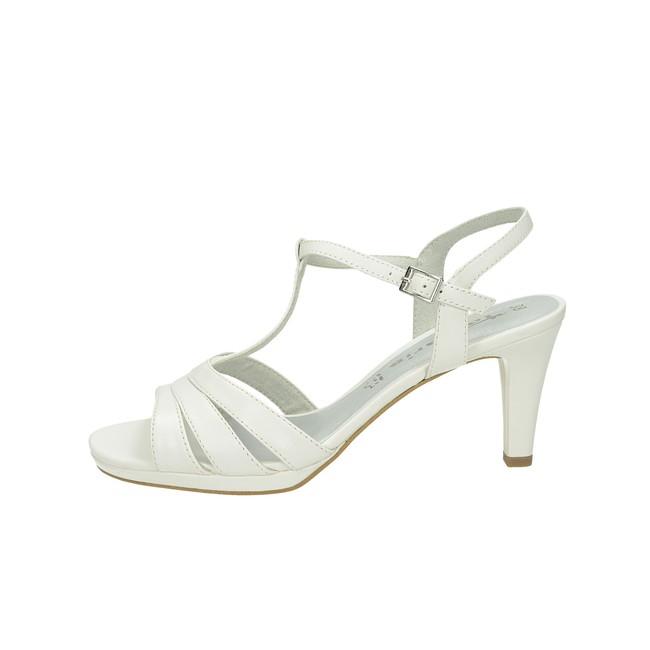 221a637c2083 ... Tamaris dámské sandály na platformě - bílé ...