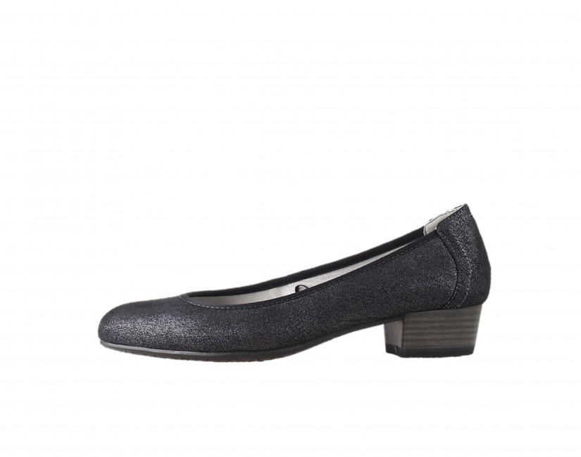 Tamaris dámské lodičky na nízkém podpatku - černé ... 013e9d77bd
