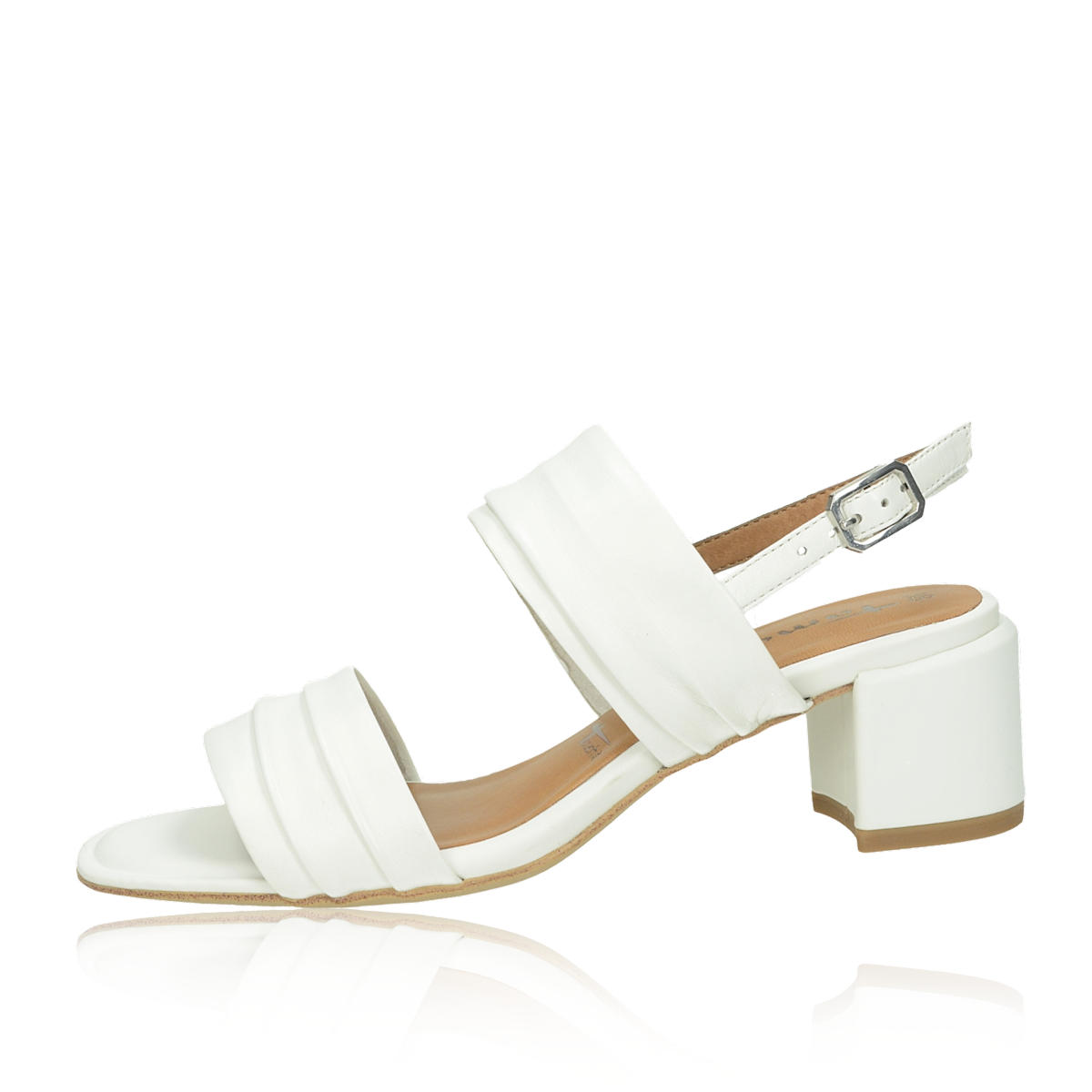 6ae30fa1f1af Tamaris dámské stylové sandály - bílé Tamaris dámské stylové sandály - bílé  ...