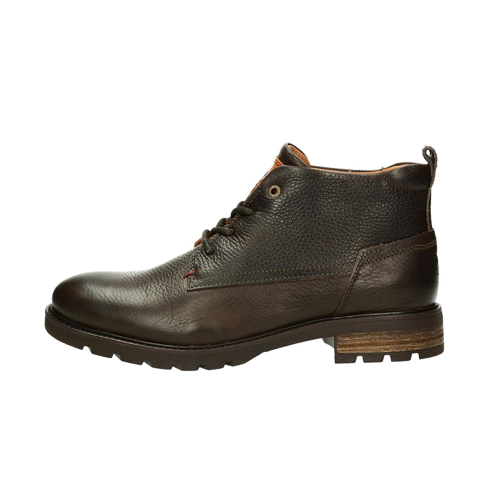 ... Tommy Hilfiger pánská kožená kotníková obuv - hnědá ... 74a9d75145